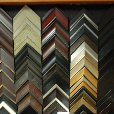 Small selection of framing samples