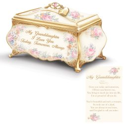 Granddaughter Music box with Charm $69.99 0123593701